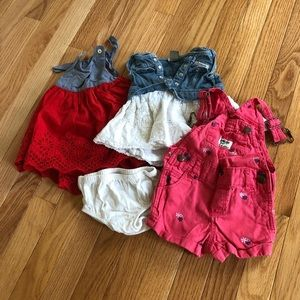 Baby Gap, CK, & OG 3-6 Months Summer Clothing Lot